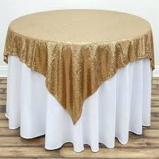 gold table cloths free square silver sequin tablecloth for wedding beautiful overlay home decoration in