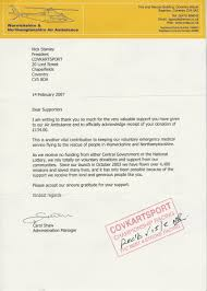 Some The Thank You Letters Below Charity Event Proposal Letter