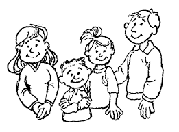 Coloring Pages For Family Within Family 22 Characters Printable ...