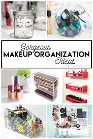 gorgeous makeup organization ideas