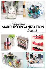 gorgeous makeup organization ideas