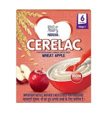 Nestle Cerelac Stage 1 Wheat Apple 300gm