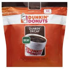 Dunkin' is a market leader in the hot regular/decaf/flavored coffee, iced regular/decaf/flavored coffee, donut, bagel and muffin categories. Dunkin Donuts Coffee Ground Medium Roast Dunkin Decaf 24 Oz Instacart
