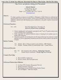 Download Teaching Resume Format Haadyaooverbayresort Com