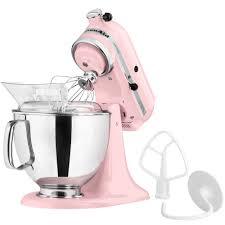 Pink Kitchen Aid Mixer Kitchenaid Ksm150pspk Pink Artisan Series 5 Qt Countertop Mixer