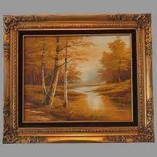 Phillip Cantrell Landscape Framed Oil Painting : Second Time Around | Ruby  Lane