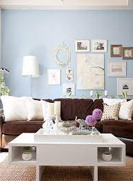 freshen up your old brown sofa