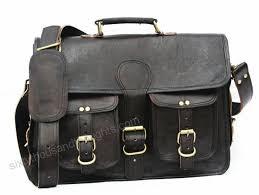 black leather messenger bags for men women mens briefcase laptop bag best computer shoulder satchel school