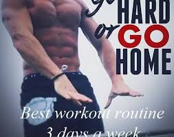 best 3 days a week workout routine for