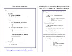 paragraph essay outline co 4 paragraph essay outline