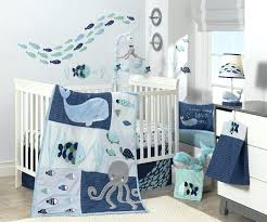 decoration dolphin crib bedding lambs aqua blue aquatic 4 piece set miami dolphins sets