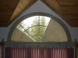 Enhance Arched Windows With Style  Exciting Windows2Semi Circle Window Blinds