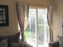 Curtains Sliding Glass Door Delighful Curtains For Kitchen Sliding Glass Doors Bamboo Shades
