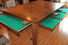 Wooden Game Table Plans Custom Game Tables CustomMade 14