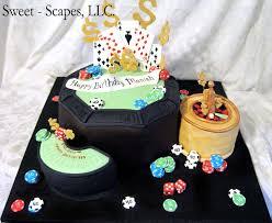Casino Birthday Cake Casino Special Event