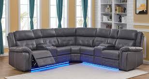 cobalt power manual reclining sectional