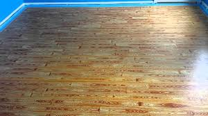 painted plywood floors basketball court applying the gel stain follow up you