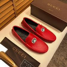 Red Designer Loafers Mens Iduzi Popular Men Casual Shoes Blue Red Boys Designer Sneakers Metal Fashion Male Loafers Luxury Suede Leather Mens Casual Footwear
