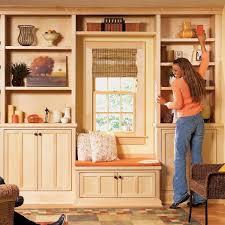 pre built shelves prefab bookcases built ins stylish
