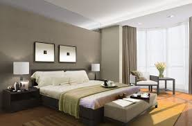 elegant master bedroom design ideas. Elegant Master Bedroom Design Ideas With Table Lamp And Dark Cabinet