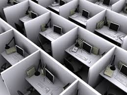Small office cubicles Office Set Up Cubicles Arial View Bina Office Furniture Cubical Office Systems Setup Configuration Detroit Michigan