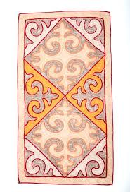 red and tan rug black area rugs