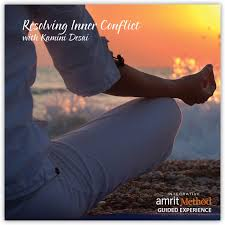 lecture and guided experience resolving inner conflict with kamini desai phd