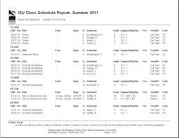 Class Timetable Template Classy State University Pertaining To College Student Class Schedule