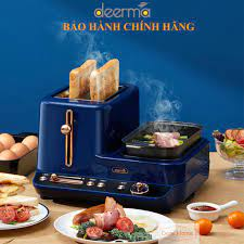 Máy làm đồ ăn sáng đa năng Deerma DEM-ZC10 Bảo Hành 12 Tháng - Đồ dùng nhà  bếp khác Thương hiệu deerma