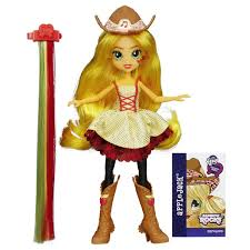 hasbro my little pony equestria s rainbow rocks applejack rockin hairstyle doll b1999 eveikals lv