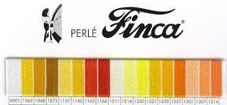 Finca Perle Cotton Color Chart New Page 1