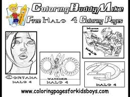 Small Picture ColoringBuddyMike Halo 4 Coloring Pages To Print YouTube