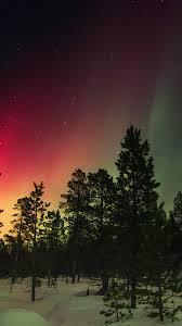 nl46-snow-sky-aurora-night-winter ...