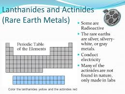 Families on the Periodic Table Elements on the periodic table can ...