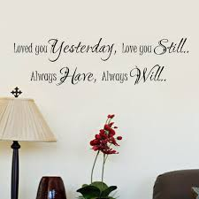 Love Wall Quotes Mesmerizing Wall Decals Quotes And Definitions Wall Decals Loved You