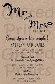 Couple Wedding Shower Invitations Wedding Shower Invitations For Couples Invitation Printing
