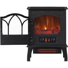 chimneyfree electric infrared 5 heater stove quartz 200 btu black metal 108 top reviews