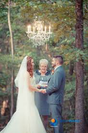 outdoor wedding lighting in the woods chandelier