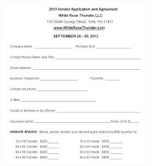 Agreement Form Doc Simple Supplier Registration Form Template
