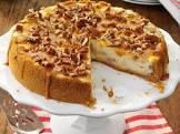 apple creme brulee cheesecake