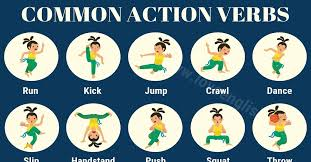 Verb Action Action Verbs 30 Common Action Words In English With