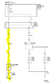 jeep tj clock spring wiring diagram manual e book horn issues jeep wrangler tj forumit can either be the clock spring horn switch is bad