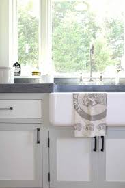 Two tone cabinets Gray View In Gallery Kitchen Sink Farm House Style Two Toned Cabinets Gray White Cococozy Dan Scotti Design Trendir 35 Twotone Kitchen Cabinets To Reinspire Your Favorite Spot In The