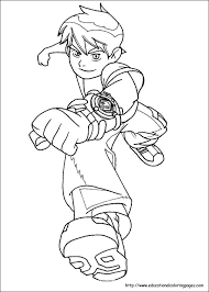Small Picture Ben 10 Coloring Pages free For Kids