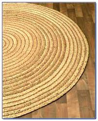 dots round jute rug small oval 6 9