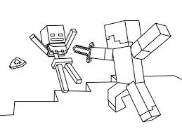 Minecraft Coloring Pages Selfcoloringpagescom Mincraft Coloring
