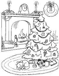 christmas tree with presents coloring pages. Beautiful Presents Christmas Tree With Presents Coloring Pages 13 In I