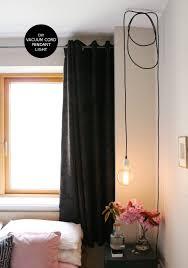 diy friday vacuum cord pendant light