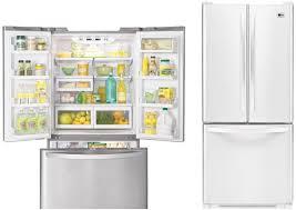 lg french door refrigerator freezer. lg lfc20760sw 20 cu. ft. smooth white french door bottom freezer refrigerator lg d