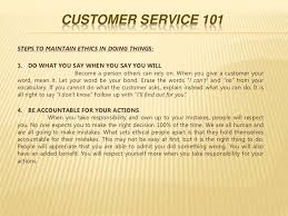 Great Customer Service Means Customer Service Training 1